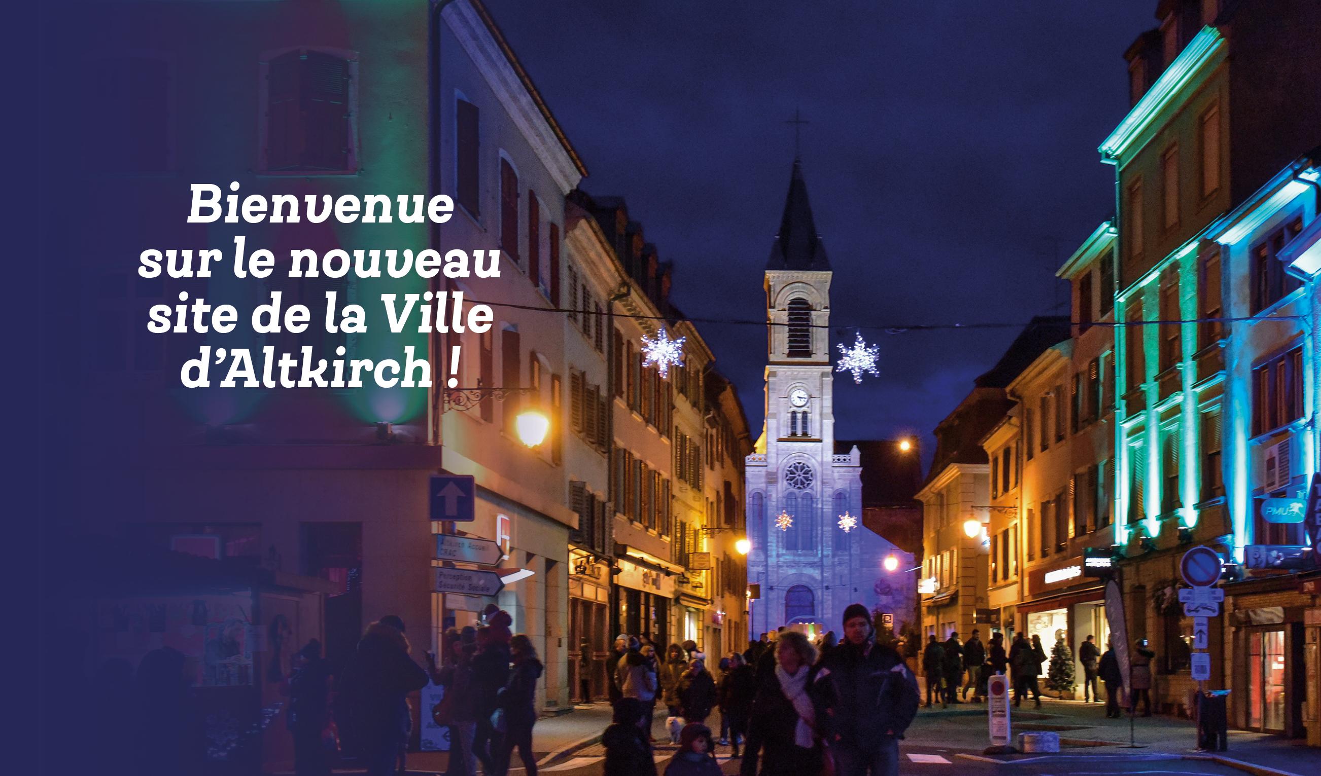 * Retrouvez tous les évènements, l'actualité d'Altkirch, les infos pratiques… *