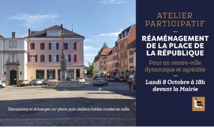 Atelier Participatif > Réaménagement de la Place de la République