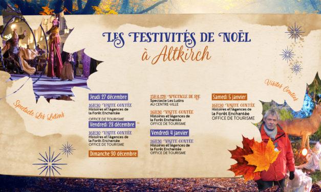 > Du 27 DÉCEMBRE au 5 JANVIER, Programme : Noël à Altkirch