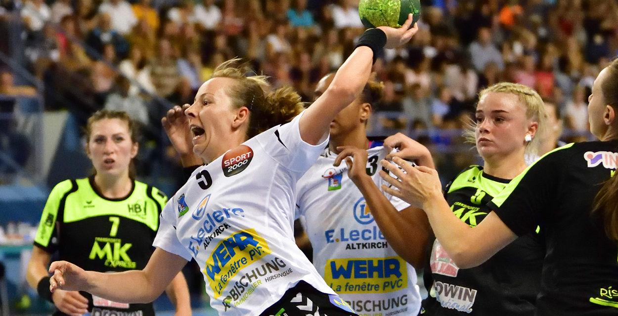 > SA 17 NOVEMBRE, Handball : Coupe de France Féminine à la Palestre
