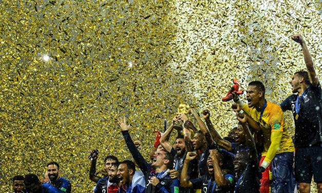 RETOUR EN IMAGES * Fan Zone à la Palestre pour la finale de la Coupe du Monde de Foot, Dimanche 15 juillet 2018 *