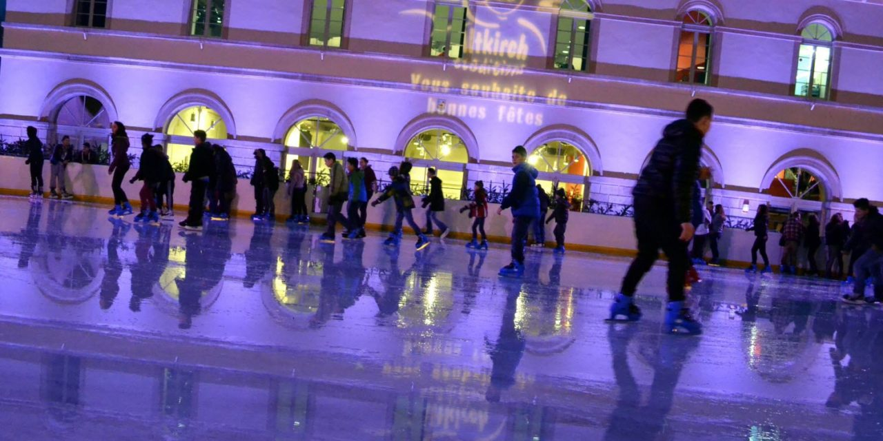 Horaires 2018 de la Patinoire en plein-air
