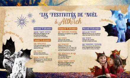 > Du 14 au 19 DÉCEMBRE 2018, Programme : Noël à Altkirch