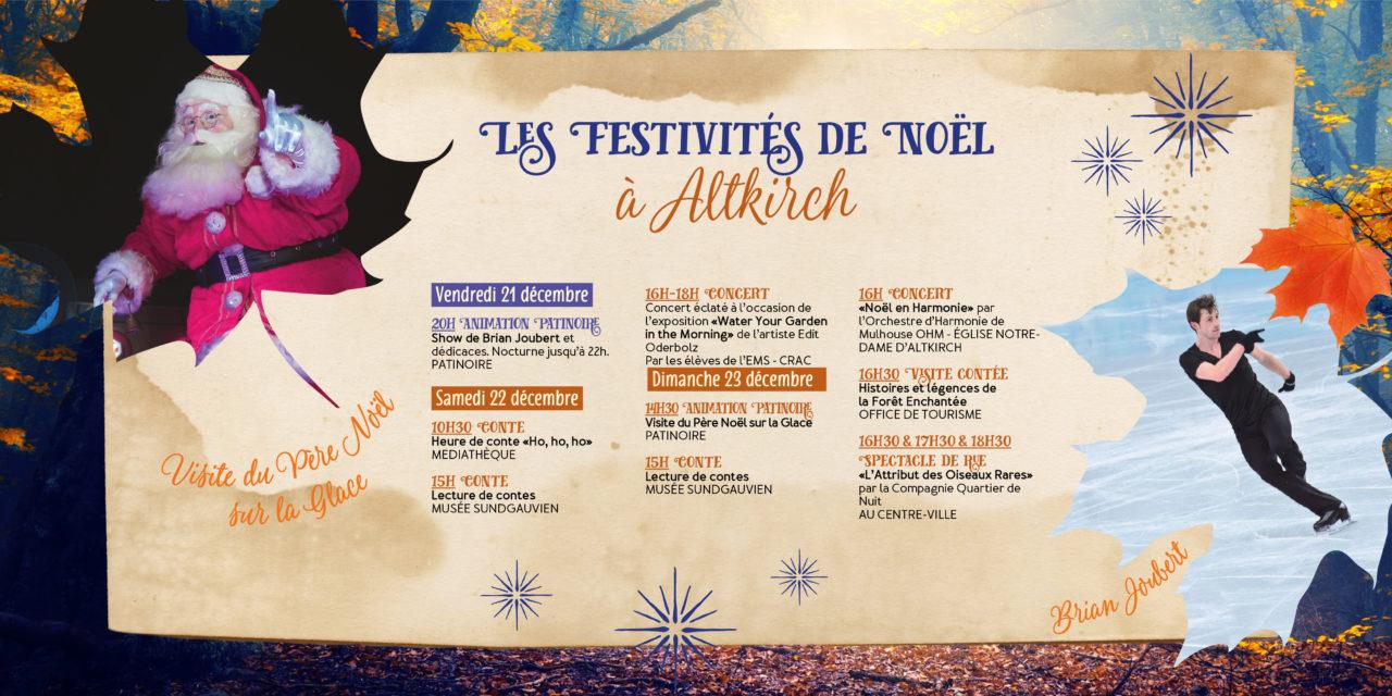 > Du 21 au 23 DÉCEMBRE 2018, Programme : Noël à Altkirch