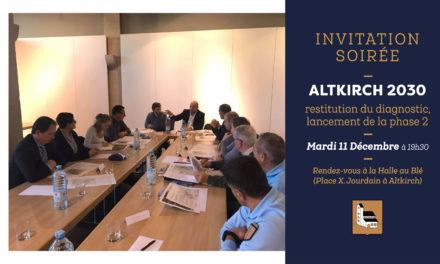 Soirée de présentation du diagnostic Altkirch 2030