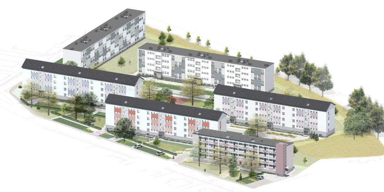 Cadre de vie : réhabilitation des logements Saint-Morand