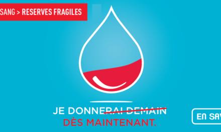 EFS – Planning 2019 des prochaines collectes de sang à Altkirch