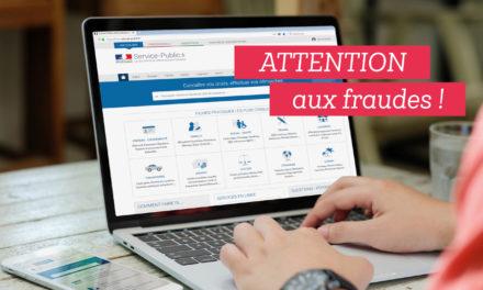 Demandes en ligne d'actes d'état civil et paiements frauduleux
