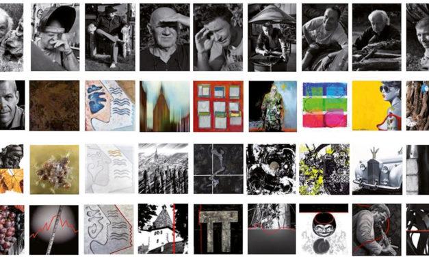 > VENDREDI 12 AVRIL 2019, Vernissage de l'exposition du Collectif LES.9