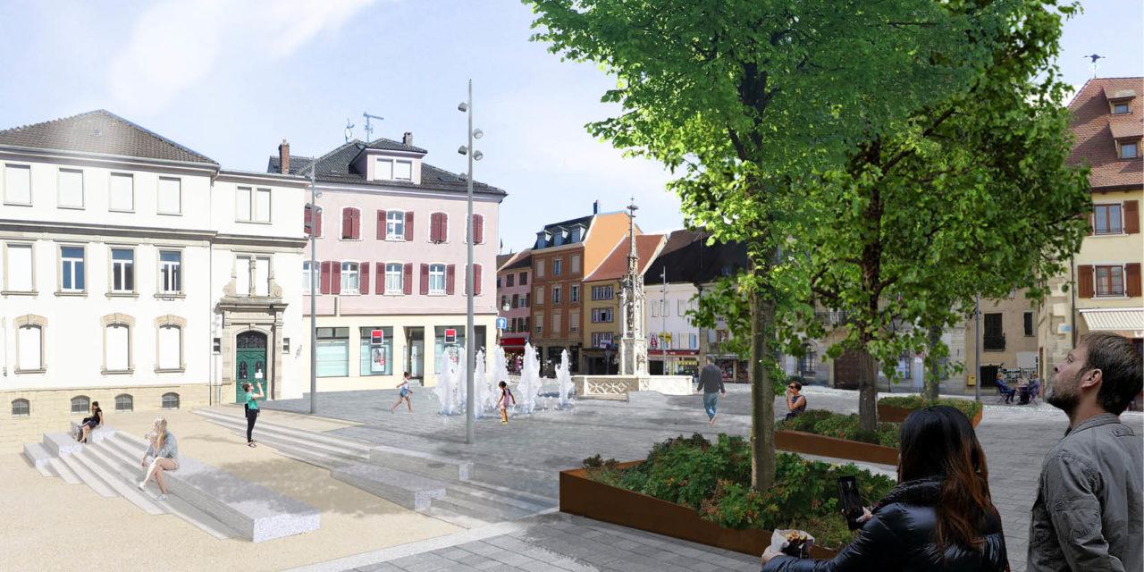 Aménagement du Parc de la Mairie et de la Place de la République