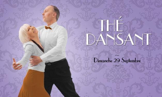 * Le CCAS vous invite aux Thés dansants à la Halle au Blé de 15h à 18h *