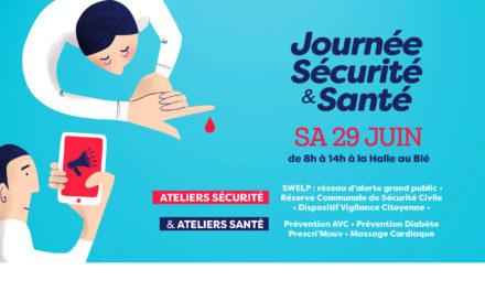 > SA 29 JUIN 2019, Journée sécurité et santé