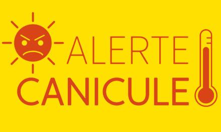 Vigilance orange – Plan Canicule de niveau 3 – du 18 au 30 juin 2019