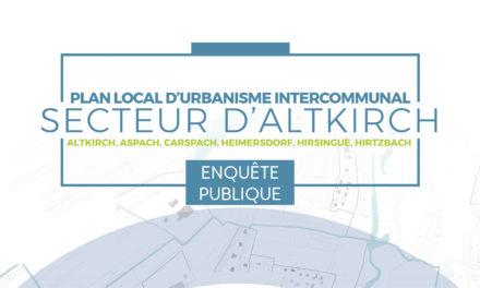 Enquête publique – Elaboration du PLUI du secteur d'Altkirch