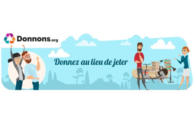 Donnons.org : Ne jetez plus ! Donnez !