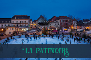 la patinoire en plein air d'altkirch