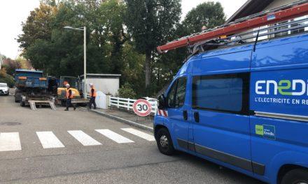 Problème électrique rue du roggenberg et perturbations téléphonie, télévision.