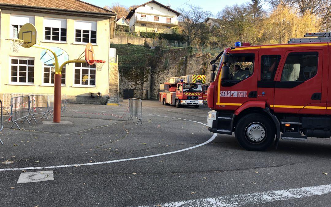 Incident mineur à l'école élémentaire Les Tuileries