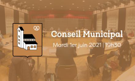 Conseil Municipal du 1er juin 2021