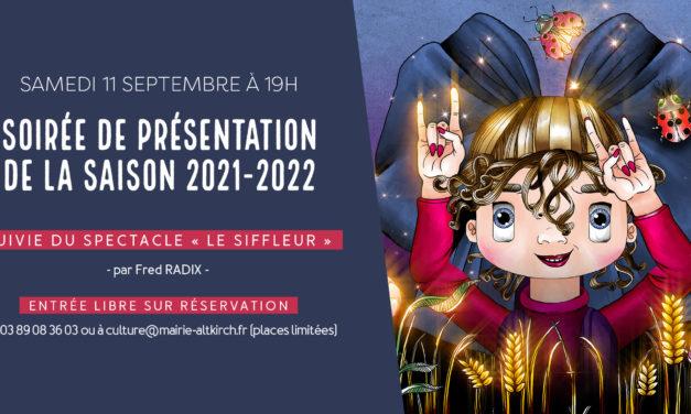 Ouverture de saison culturelle 2021-2022 de la Halle au Blé